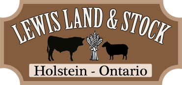 Lewis Land and Stock Holstein Ontario
