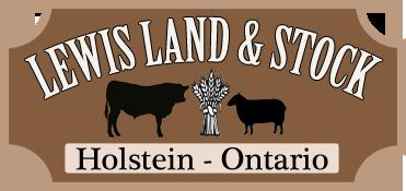 Lewis Land and Stock Holstein Ontario